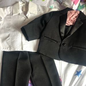 Other - Baby tuxedo shirt, bow tie, pants and jacket